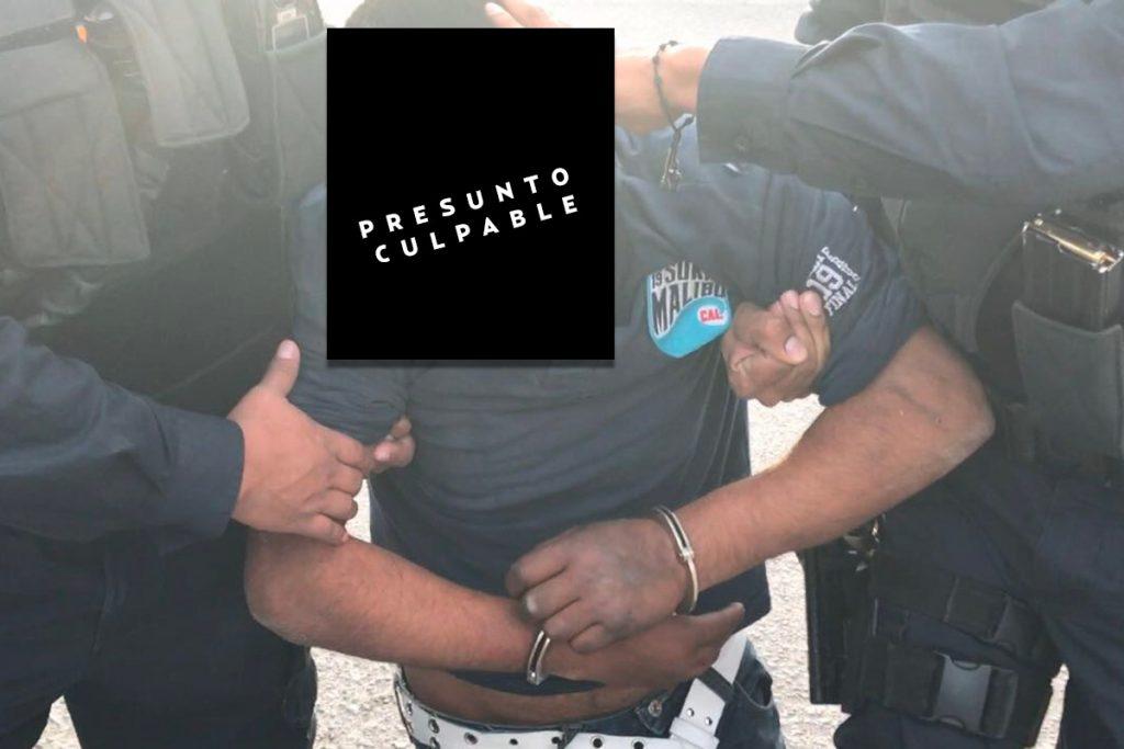 Presunto violador en Juárez, golpeado antes de ser detenido