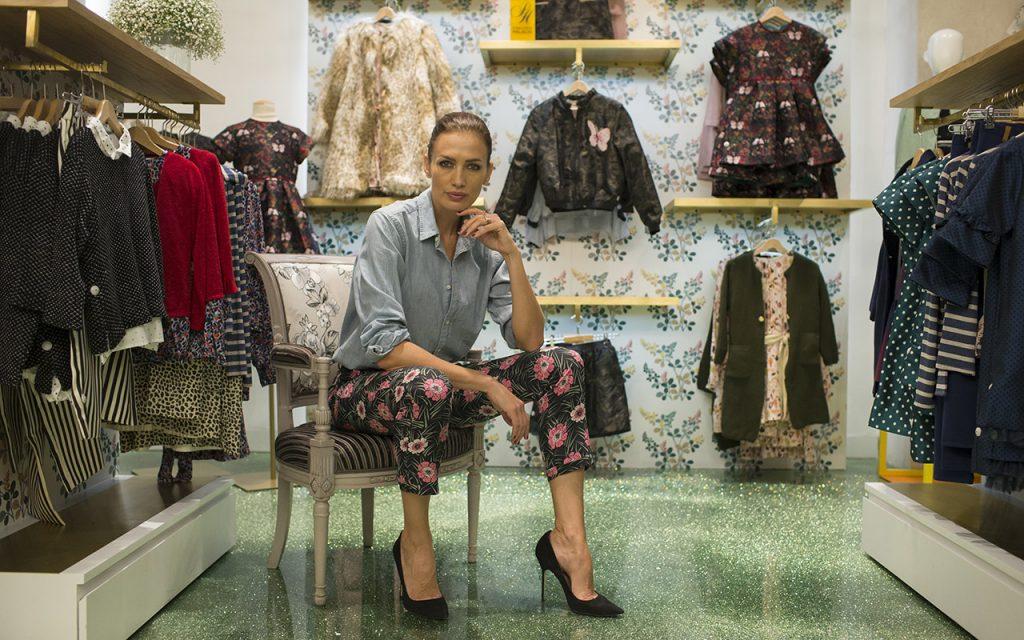 Mira quién habla con Brenda Jaet: #NievesÁlvarez Vanguardia en moda infantil