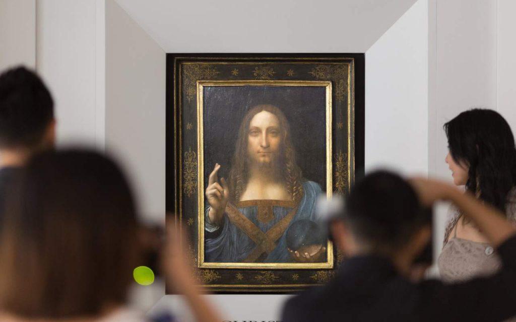 """Cuadro de Leonardo da Vinci """"Salvator Mundi"""", vendido en 450 mdd"""