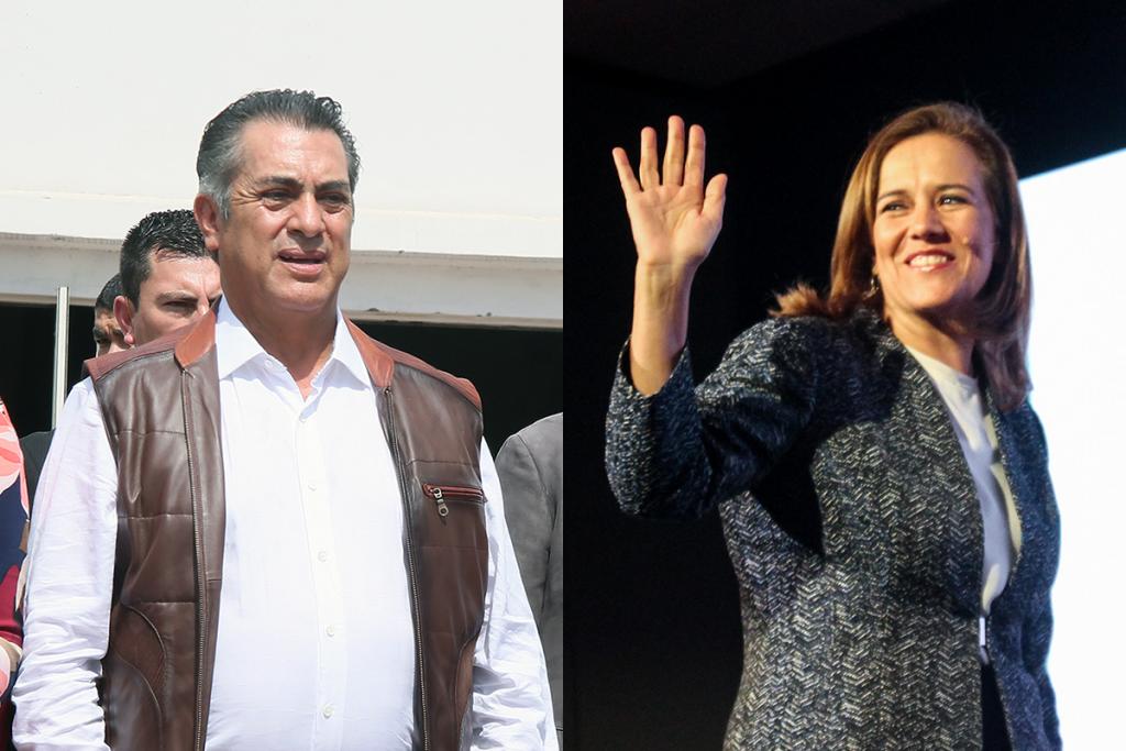 Zavala y El Bronco critican app del INE y lideran firmas de independientes