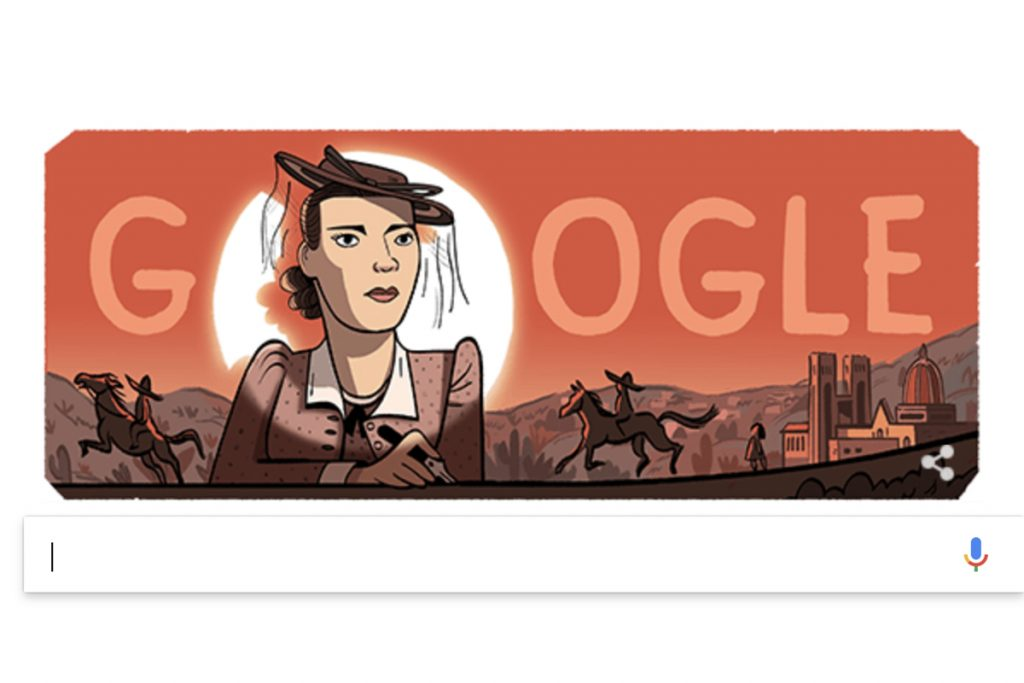 La bailarina mexicana Nellie Campobello inspira el Doodle de Google