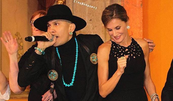 VIDEO: reina Letizia, de España, baila con Taboo de The Black Eyed Peas