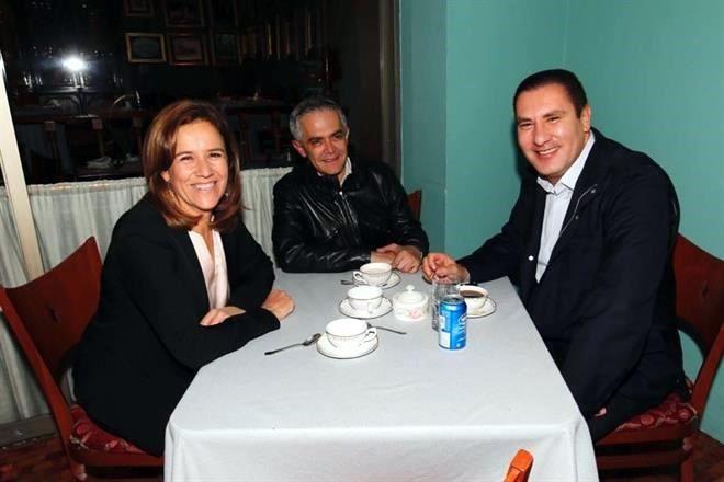 Margarita, Mancera y Moreno Valle, juntos en Polanco