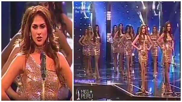 Estremecedoras medidas de las aspirantes a Miss Perú