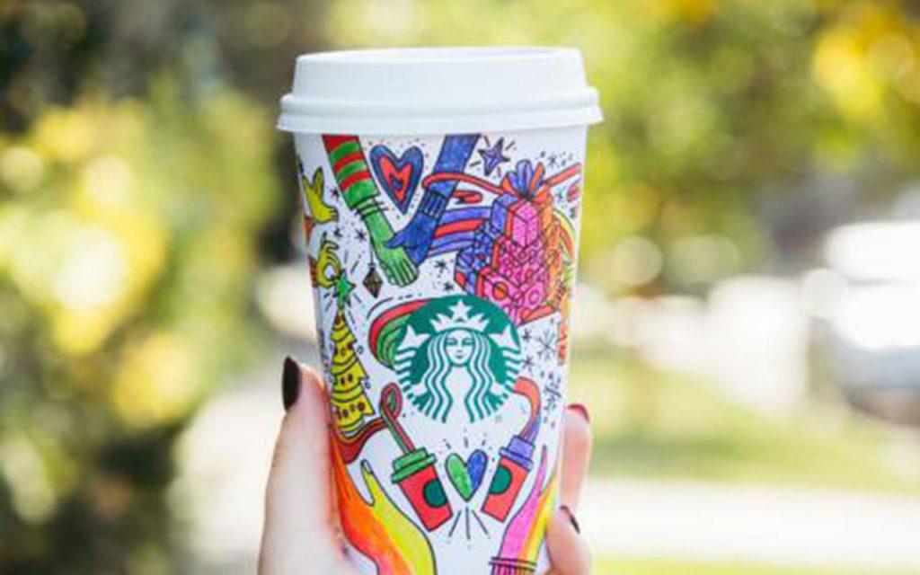 Starbucks y su propuesta de temporada de Navidad