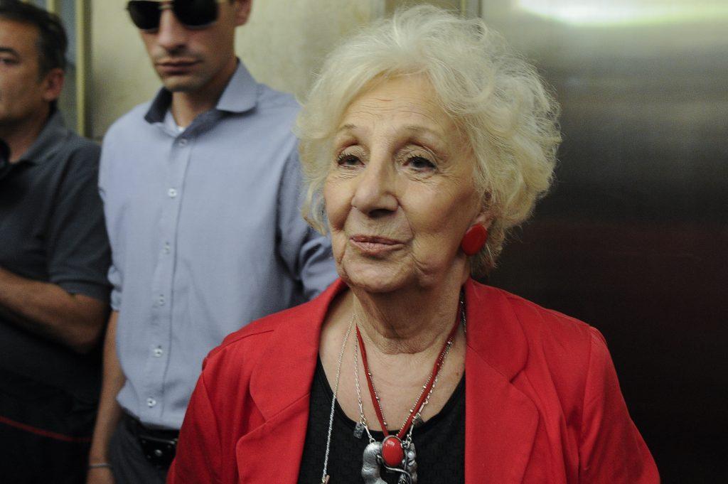 Estela de Carlotto. Archivo. AFP.