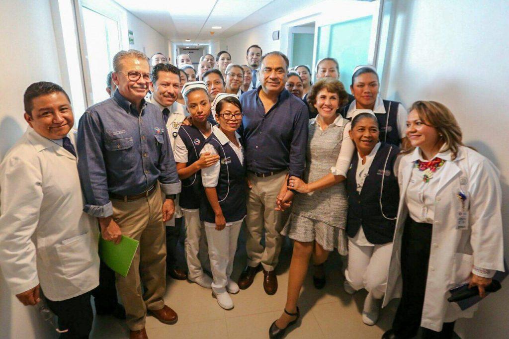 Entrega Astudillo centro de salud para atención de partos normales