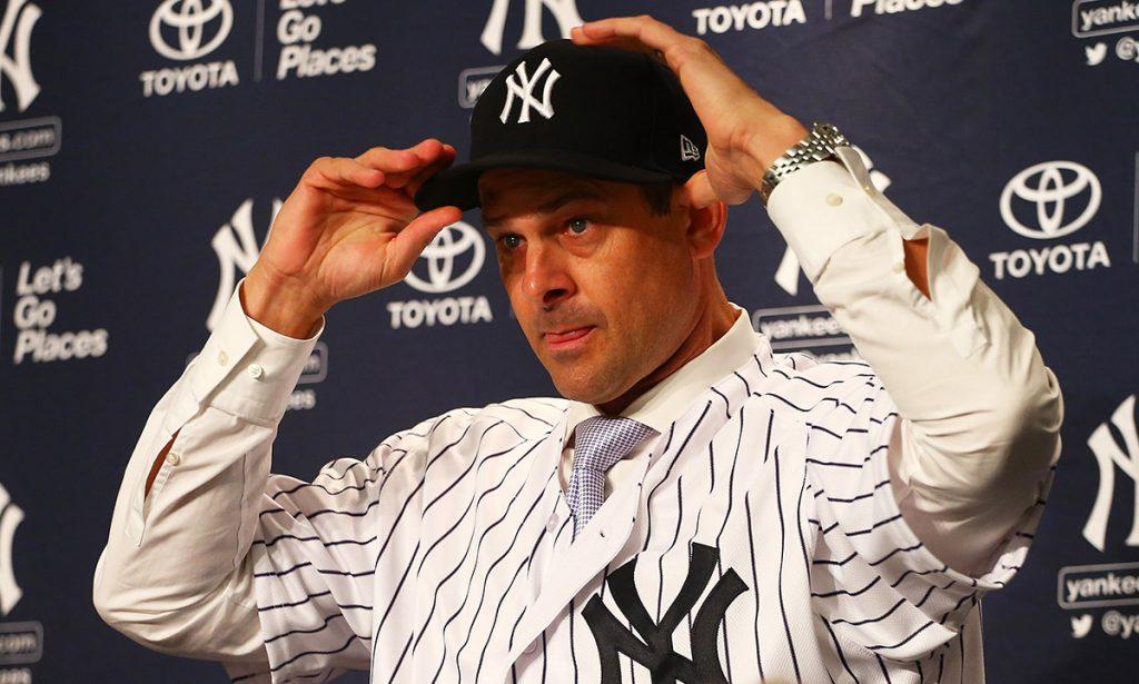 Al ser presentado como nuevo manager de los Yankees de Nueva York, Aaron Boone reconoció que necesita ganar respeto y confianza de sus jugadores