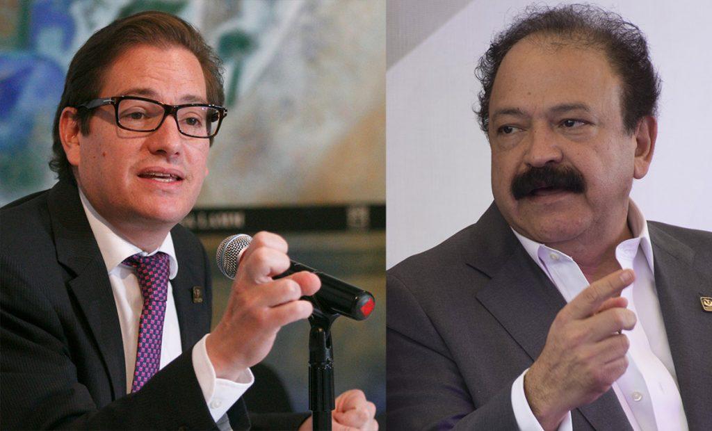 Armando Ahued, Secretario de Salud y Salomón Cherterovski, secretario de Desarrollo Económico de la CDMX aspiran a la candidatura a la Jefatura de Gobierno