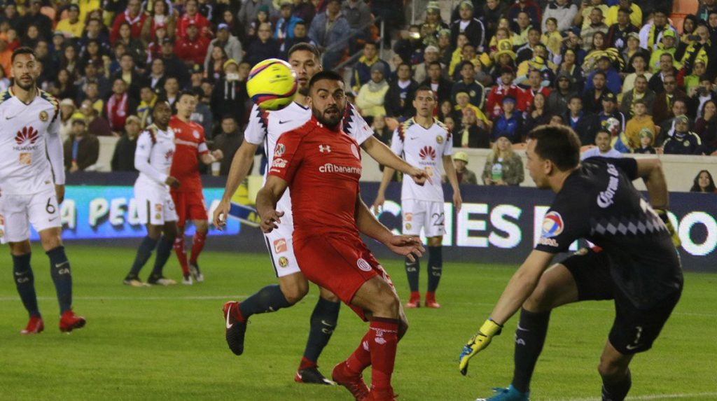 Las Águilas del América golearon 4-0 a los Diablos Rojos del Toluca en partido de preparación para el Clausura 2018