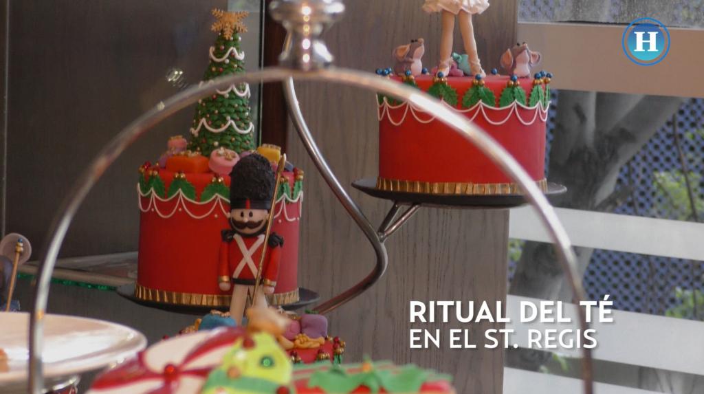 Ritual del té en el St. Regis