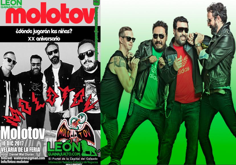 Cancelan concierto de Molotov en León