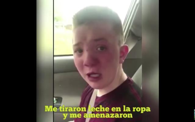 VIDEO: Historia de Keaton, víctima de 'bullying', da vuelco inesperado