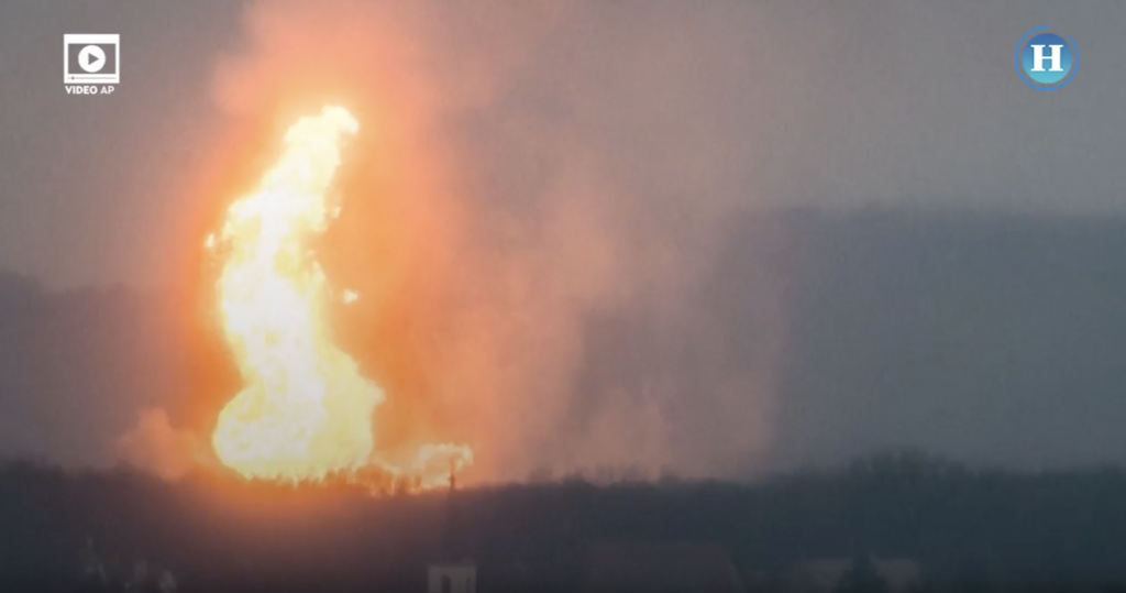 Explosión en una terminal de gas en Austria dejó un muerto y 18 heridos