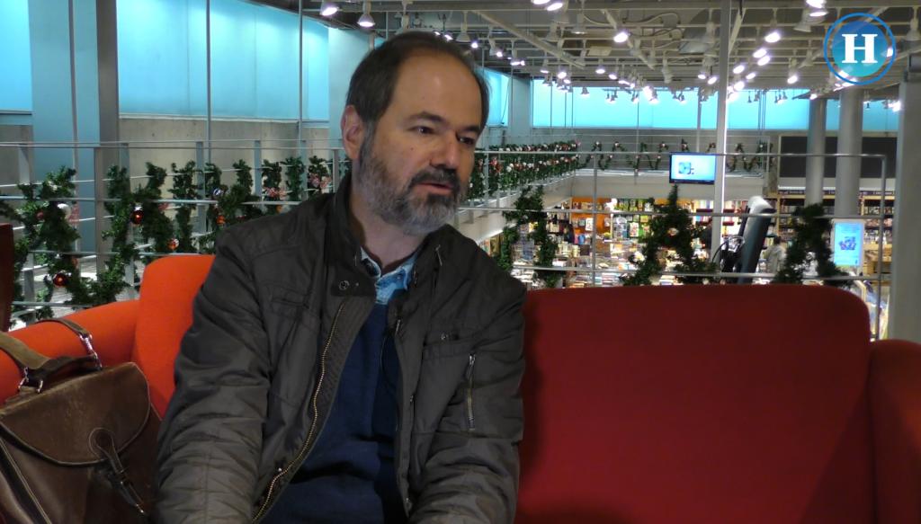 Entrevista al escritor Juan Villoro