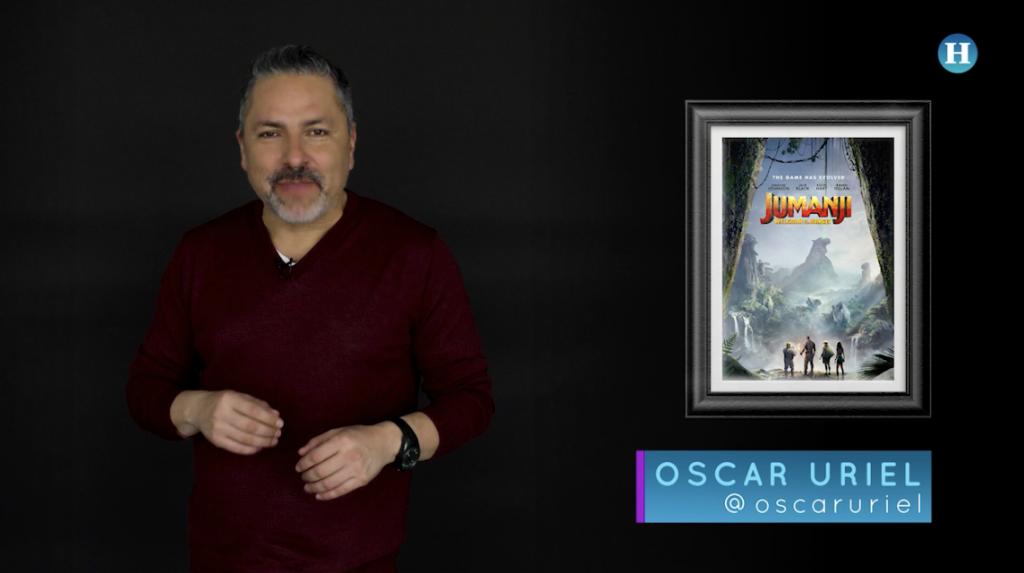 En el cine con Oscar Uriel – Jumanji
