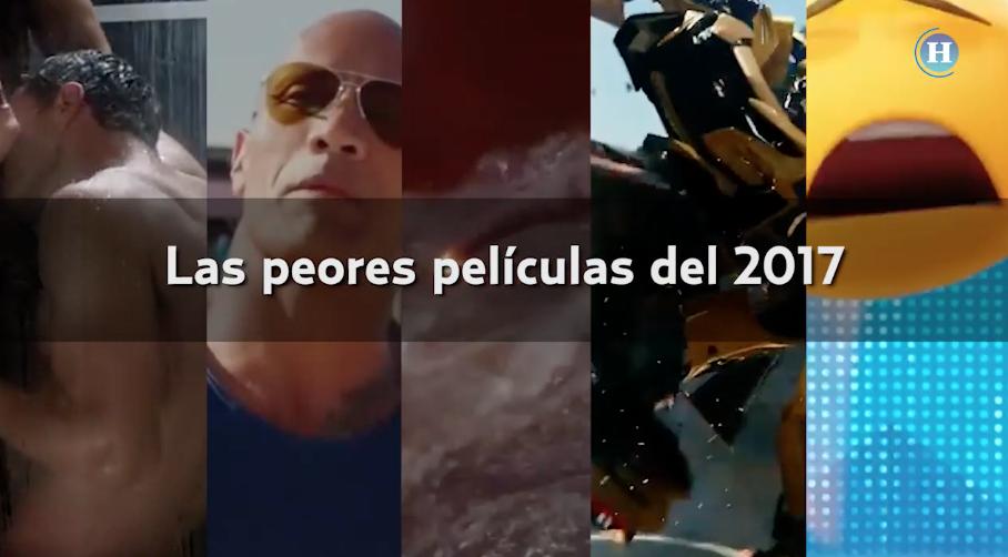 Las peores cinco películas del 2017