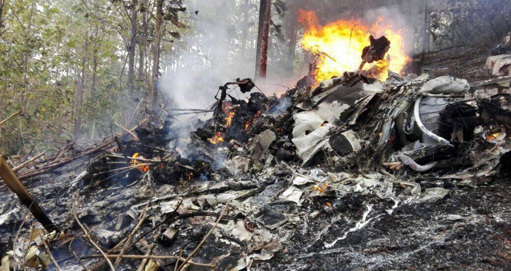 Una avioneta privada con 10 pasajeros y dos tripulantes se estrelló en la provincia de Guanacaste, Pacífico norte de Costa Rica; no hay sobrevivientes