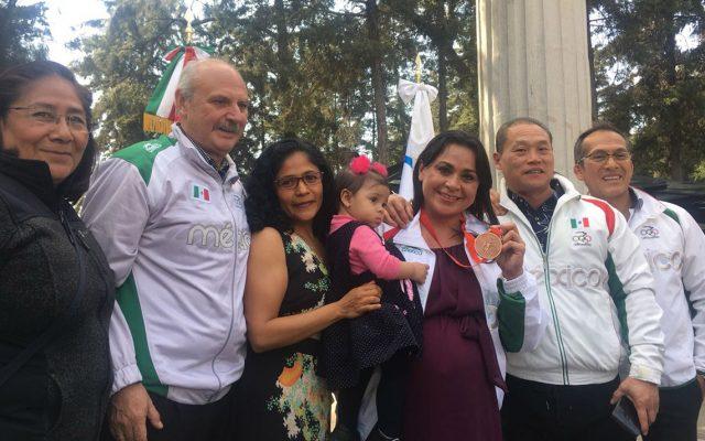 Pasaron 4 mil 41 días para que la ex halterista Damaris Aguirre tuviera el bronce olímpico de Beijing 2008 colgando de su cuello