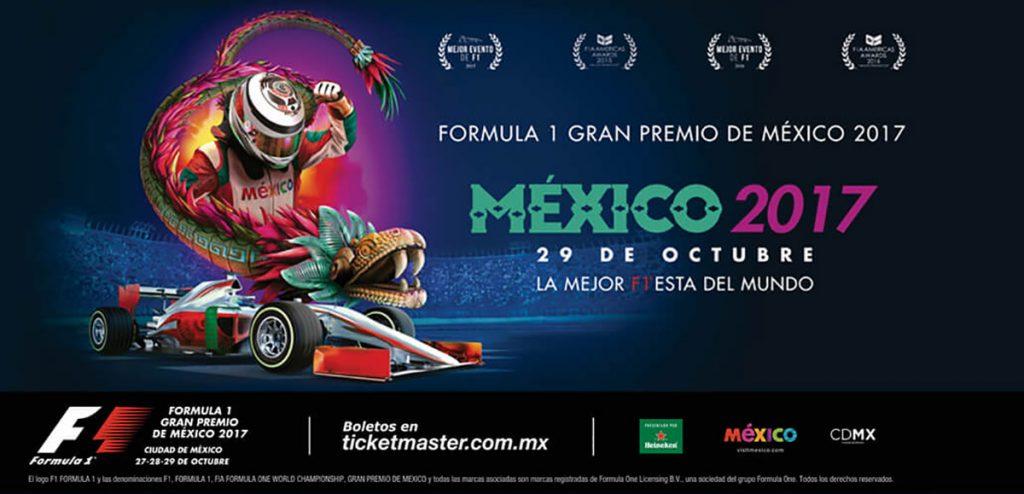 La Federación Internacional de Automovilismo nombró, por tercer año consecutivo, al Gran Premio de México como el Mejor Evento del Año de Fórmula Uno
