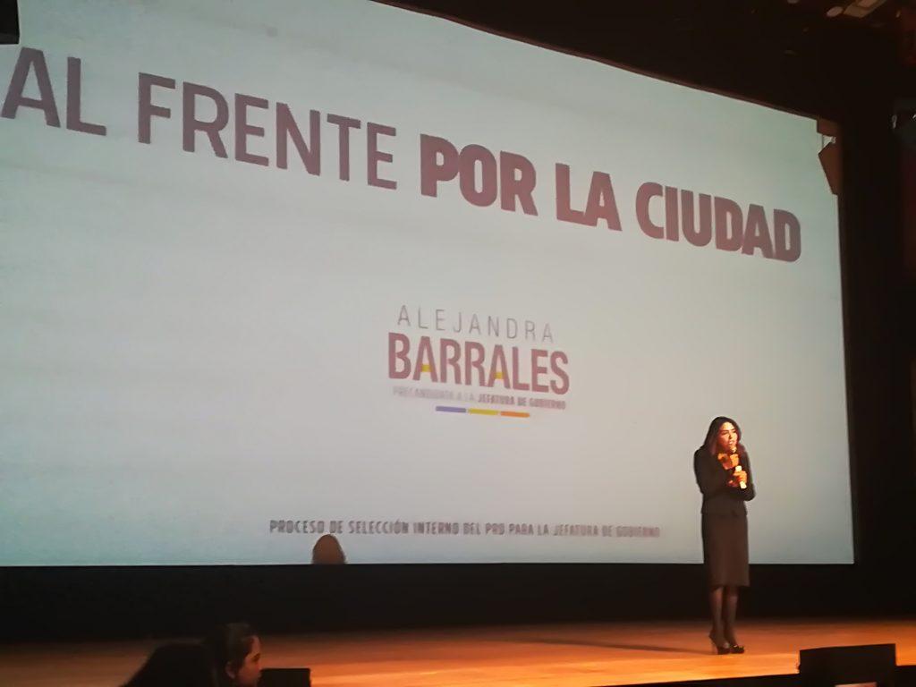 Arranca Alejandra Barrales su precampaña
