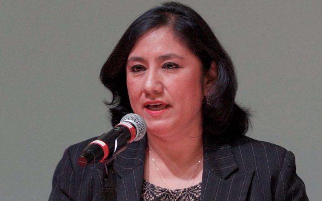 Irma Sandoval exhorta a los funcionarios públicos a cumplir con respeto sus deberes.  Foto: Especial
