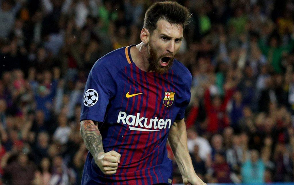 El astro argentino del Barcelona, Lionel Messi, encabeza la lista de personalidades latinas que más ingresos tuvieron durante 2017