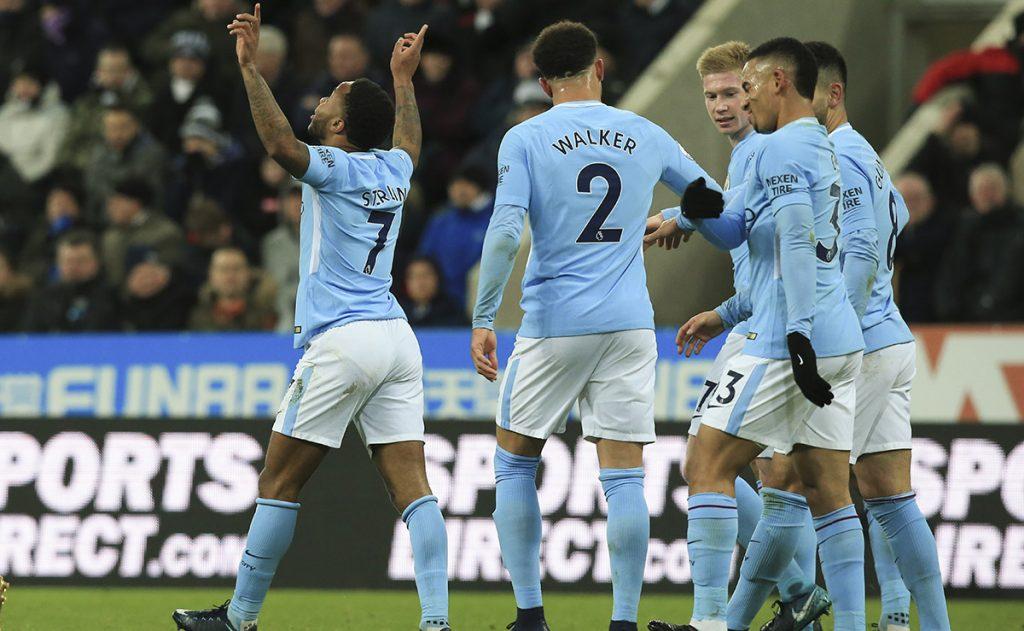 El City tomó una ventaja de 15 puntos al vencer como visitante al Newcastle dentro de la vigésima jornada de la Premier League