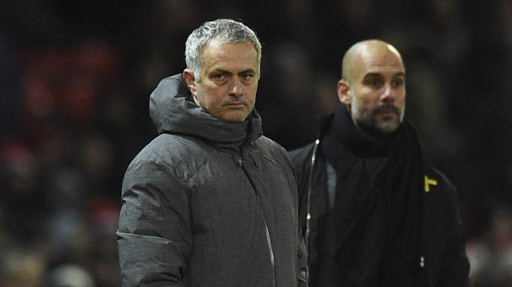 Josep Guardiola y José Mourinho hablan de la pelea en vestidores tras la victoria del City sobre el United en el derbi de Manchester el pasado domingo