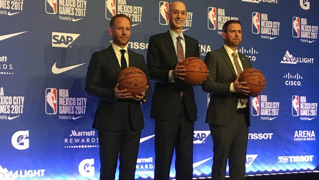 Adam Silver, comisionado de la NBA, anunció la creación en México de la primera Academia en América Latina, además de un equipo de Liga de Desarrollo