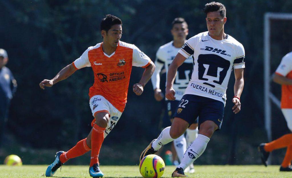 Los Pumas de la UNAM vencieron 2-1 a Alebrijes de Oaxaca en duelo de preparación; los universitarios se mantienen invictos en la pretemporada