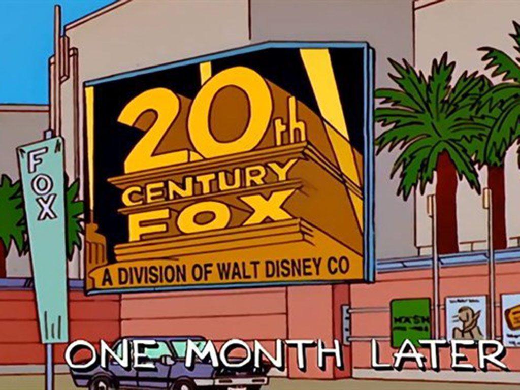 """Los Simpsons """"predijeron"""" compra de 20th Century Fox por Disney"""