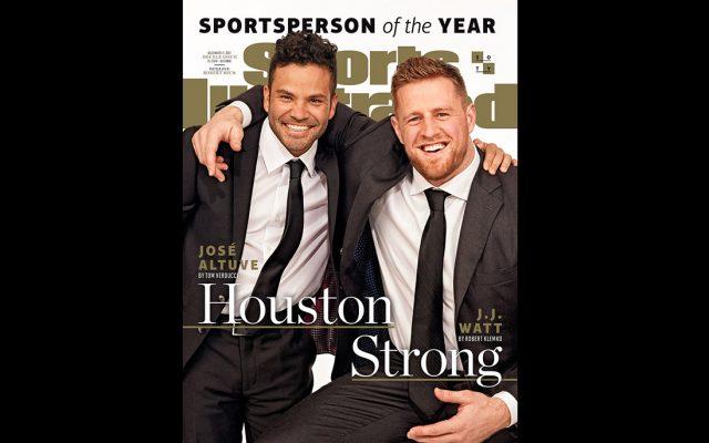La revista Sports Illustrated designó al segunda base de los campeones Astros de Houston, José Altuve, y al ala defensiva de los Texans J.J. Watt, como Deportistas del Año