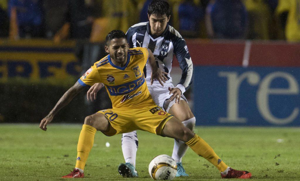 En un partido muy intenso, Tigres y Monterrey igualaron 1-1 en la ida de la gran final. Nico Sánchez con ayuda de Nahuel abrió el marcador para Monterrey. Valencia de penal empató