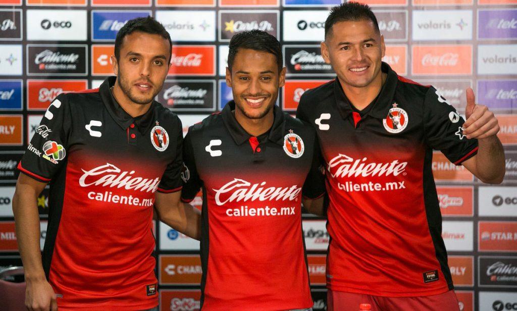 Xolos de Tijuana hizo la presentación oficial de Pablo Aguilar, Omar Mendoza y Mateus Gonçalves como refuerzos para el Clausura 2018