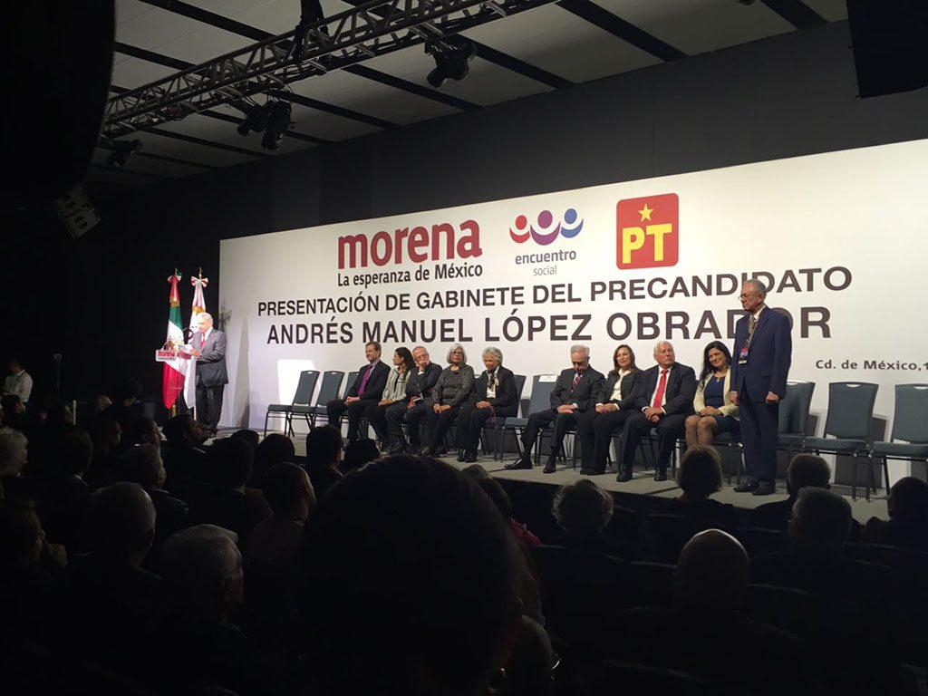 """AMLO """"destapa"""" a su gabinete; exministra Olga Sánchez Cordero para Segob"""