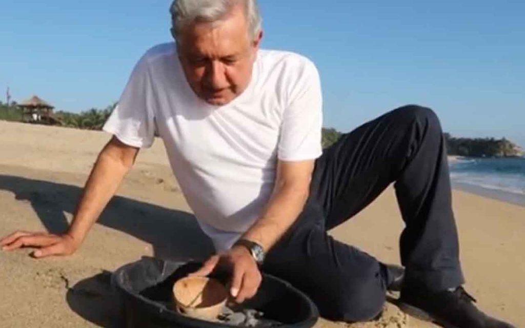 """VIDEO: AMLO habló """"de pasadita"""" del nombramiento de Otto Granados"""
