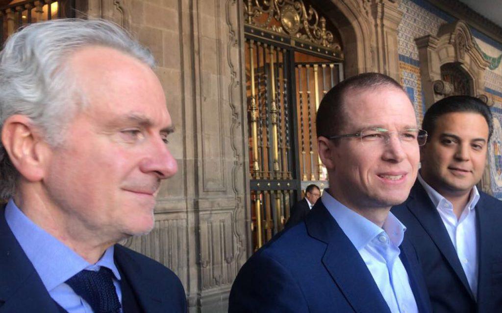 Miguel Ángel Mancera y Ricardo Anaya afinan coalición