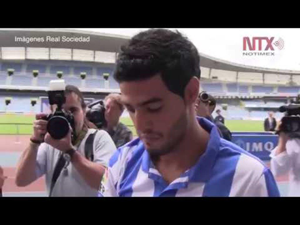 Carlos Vela se despide de la afición y de la Real Sociedad