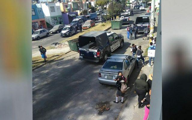 """VIDEO: """"Quítense, porque va haber balazos"""", gritan en Puebla"""