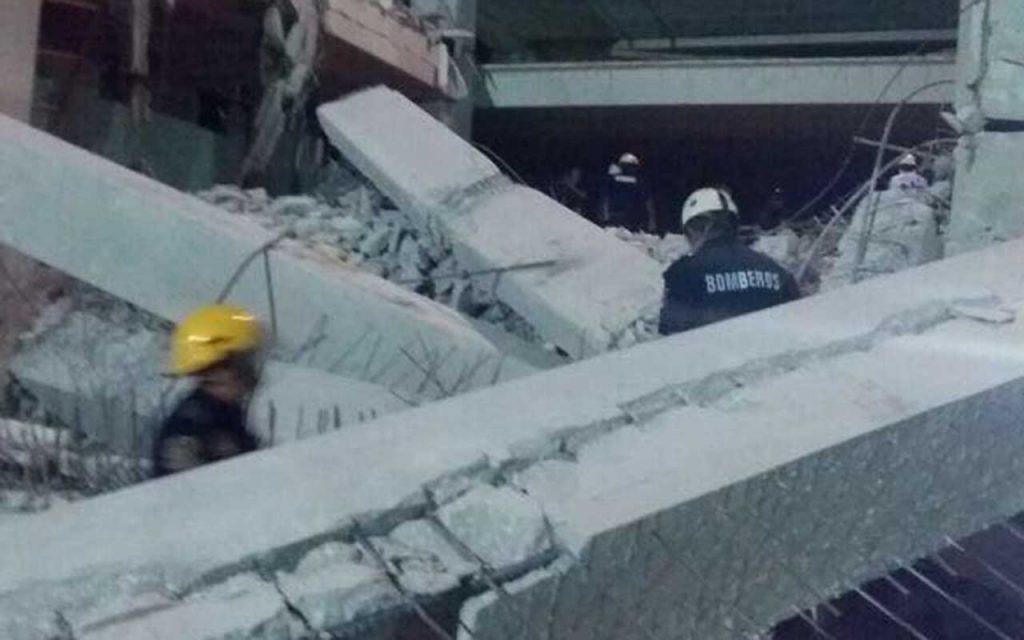 Se derrumba hotel en construcción cerca de Paseo Montejo, Mérida