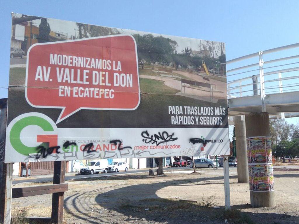 Ecatepec, de áreas lúdicas a basureros