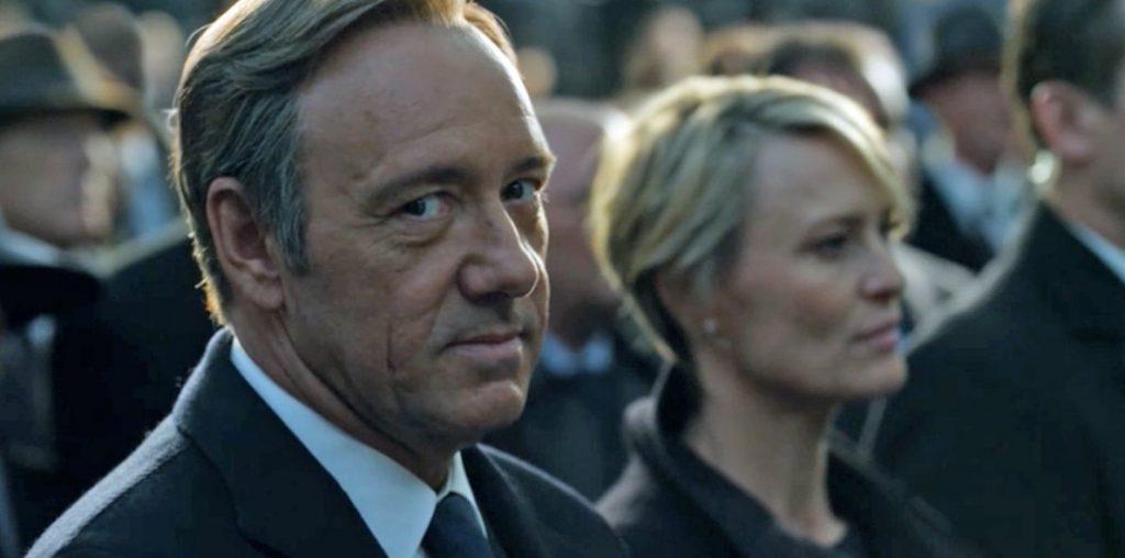 House of Cards reanudará su rodaje en 2018 sin Kevin Spacey