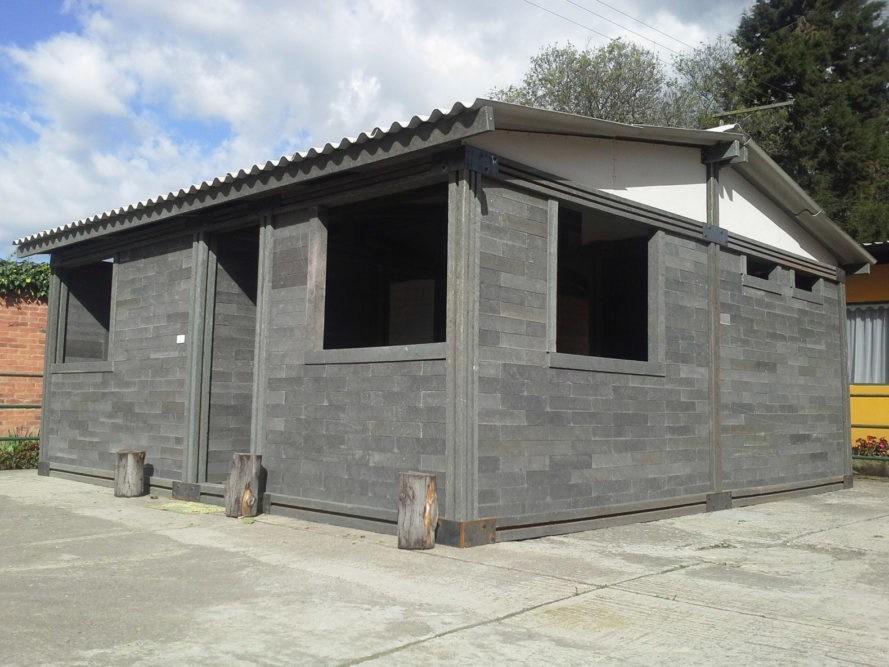 Casas sin piso y sin puertas serán entregadas a damnificados de Chiapas