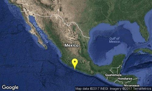 Sismo de 5.0 grados en Guerrero; se percibe levemente en zonas de CDMX