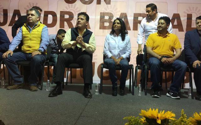 Cierran filas con Barrales en GAM y Xochimilco