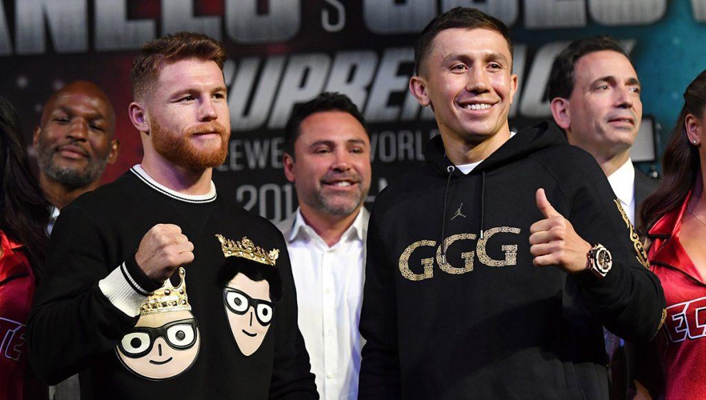 """La pelea entre el mexicano Saúl """"Canelo"""" Álvarez y el kazajo Gennady Golovkin fue elegida como la 'Mejor Pelea' del 2017 por el Consejo Mundial de Boxeo"""