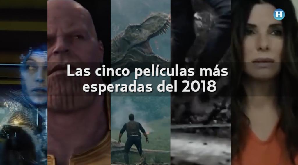 Las cinco películas más esperadas del 2018