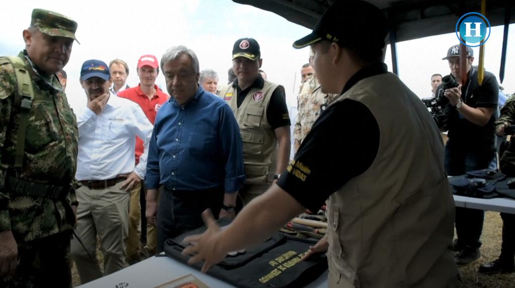 Secretario general de la ONU destacó el compromiso de la paz en Colombia