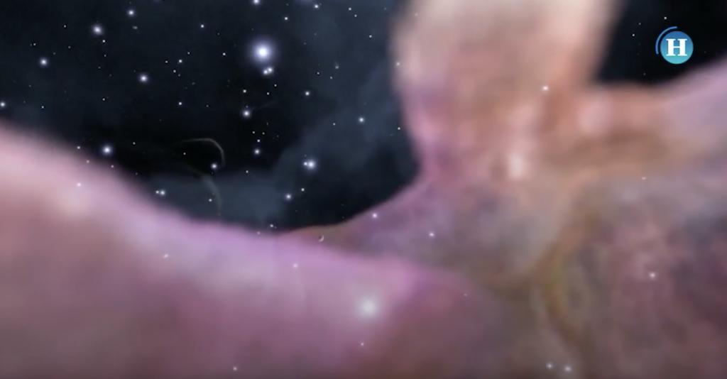 Así luce la Nebulosa de Orión